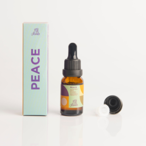Mi Scents PEACE 15ML bottle, box, drip applicator and cap